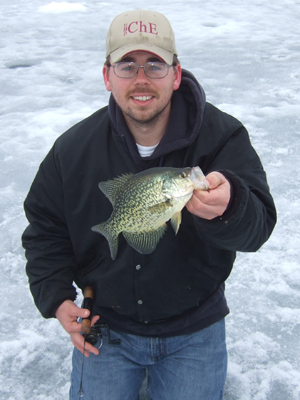 Vertical Ice Fishing