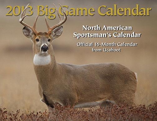 2013 Outdoor Calendar