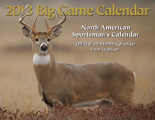 2013 Deer Hunting Calendar