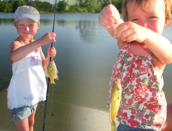 Bluegills for Kids