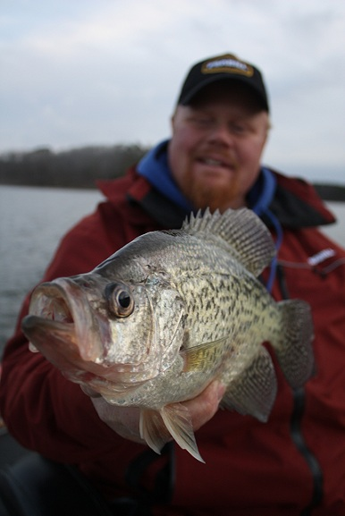 contact with spring crappies
