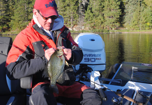 Fall Crappie Fishing
