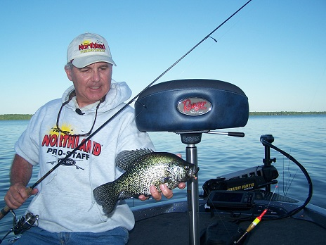 Fish for panfish right now