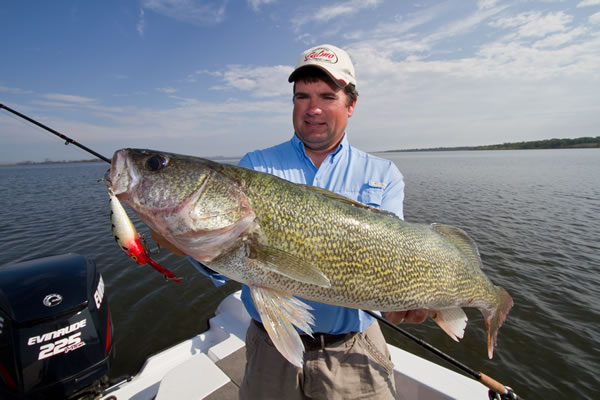 Fall Crankbait Fishing for Giant Walleyes