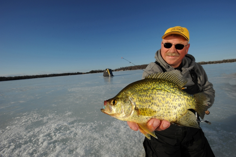 Ice Fishing Essentials for Crappies