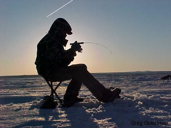 Low Impact Ice Fishing