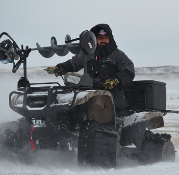 ATV's and Ice Fishing…