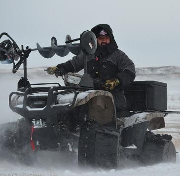 ATV's and Ice Fishing…