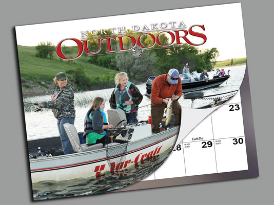 North Dakota Outdoors Calendar