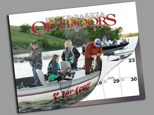 North Dakota Outdoors Calendar
