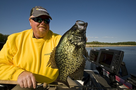 Floodwaters Point to Spring Crappies