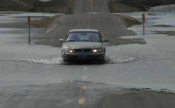 Wetlands Key to Spring Flood