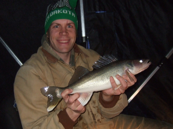 Walleye Fishing – The Big Bite