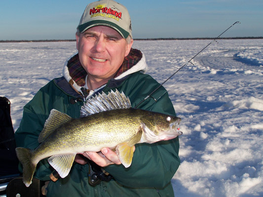 Walleye Ice