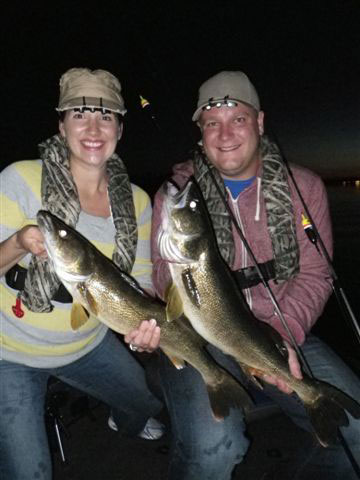 Slip Floats And Dark-Side Walleyes