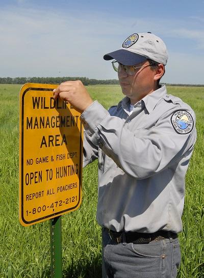WMA sign placing