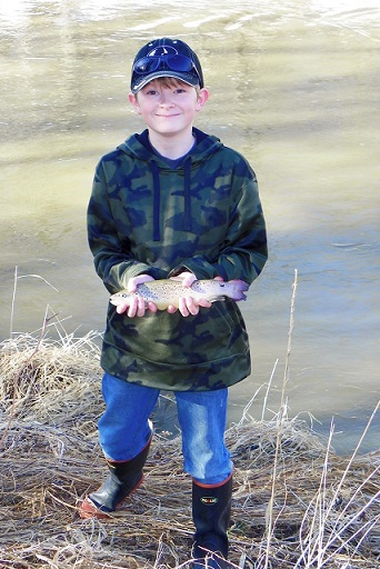 youth fishing group